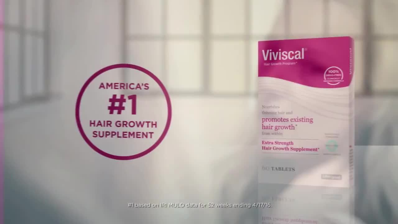 graphic relating to Viviscal Printable Coupon referred to as Viviscal Added Power Hair Improvement Complement Supplements, 60CT