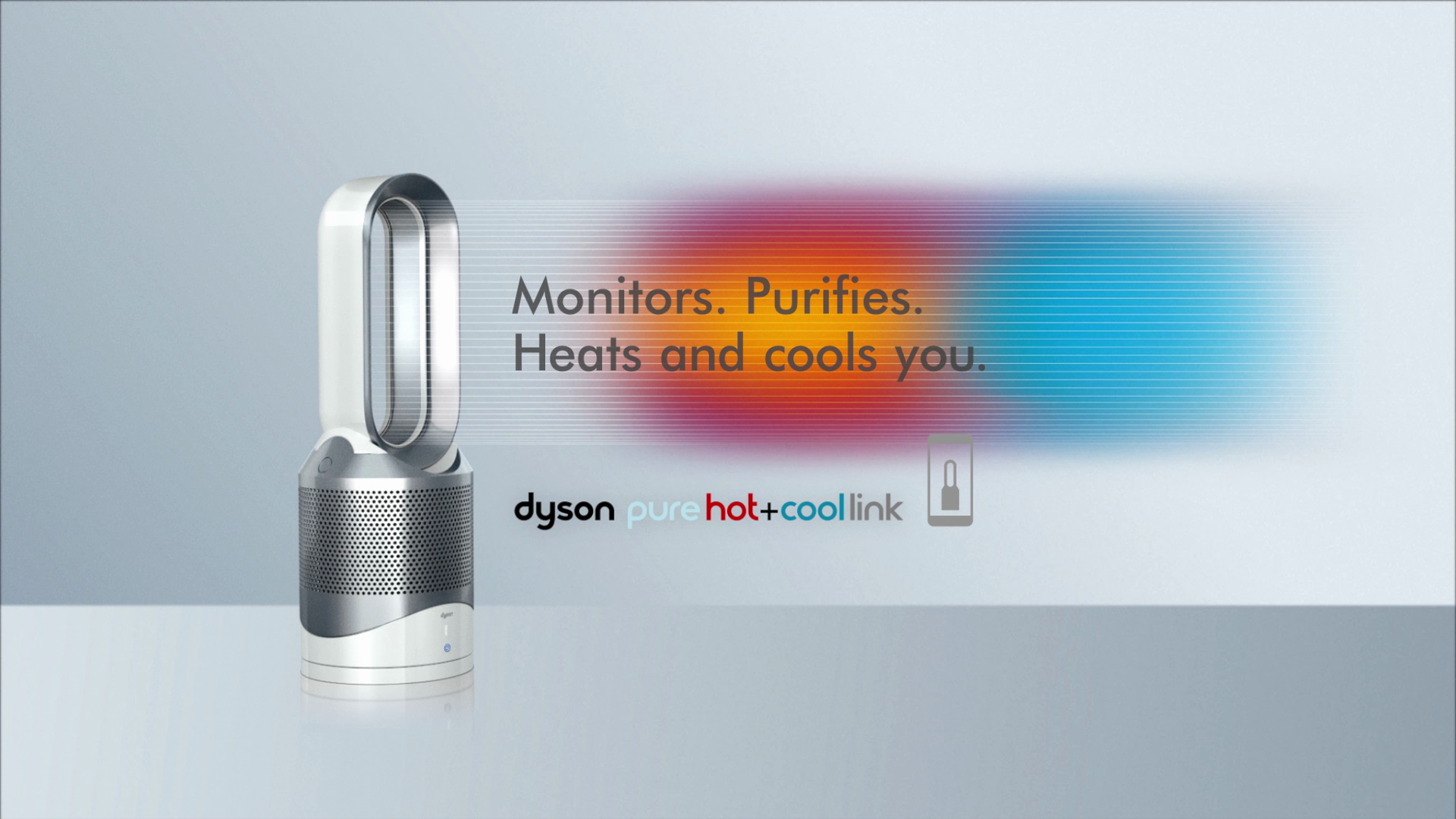 Dyson Pure Hot + Cool Link 10-Speed 300-sq ft True Hepa Air Purifier