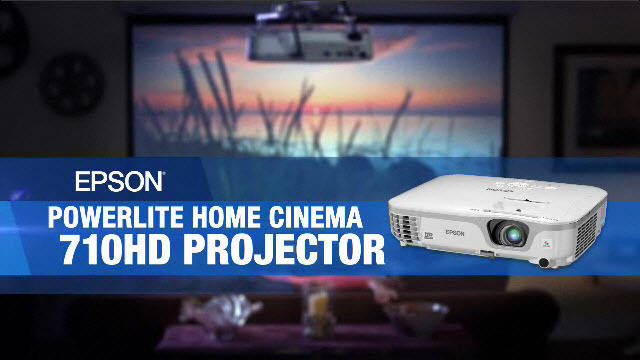 Home Cinema 710HD Product Tour