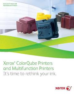 View Brochure - Solid Ink (PDF) PDF
