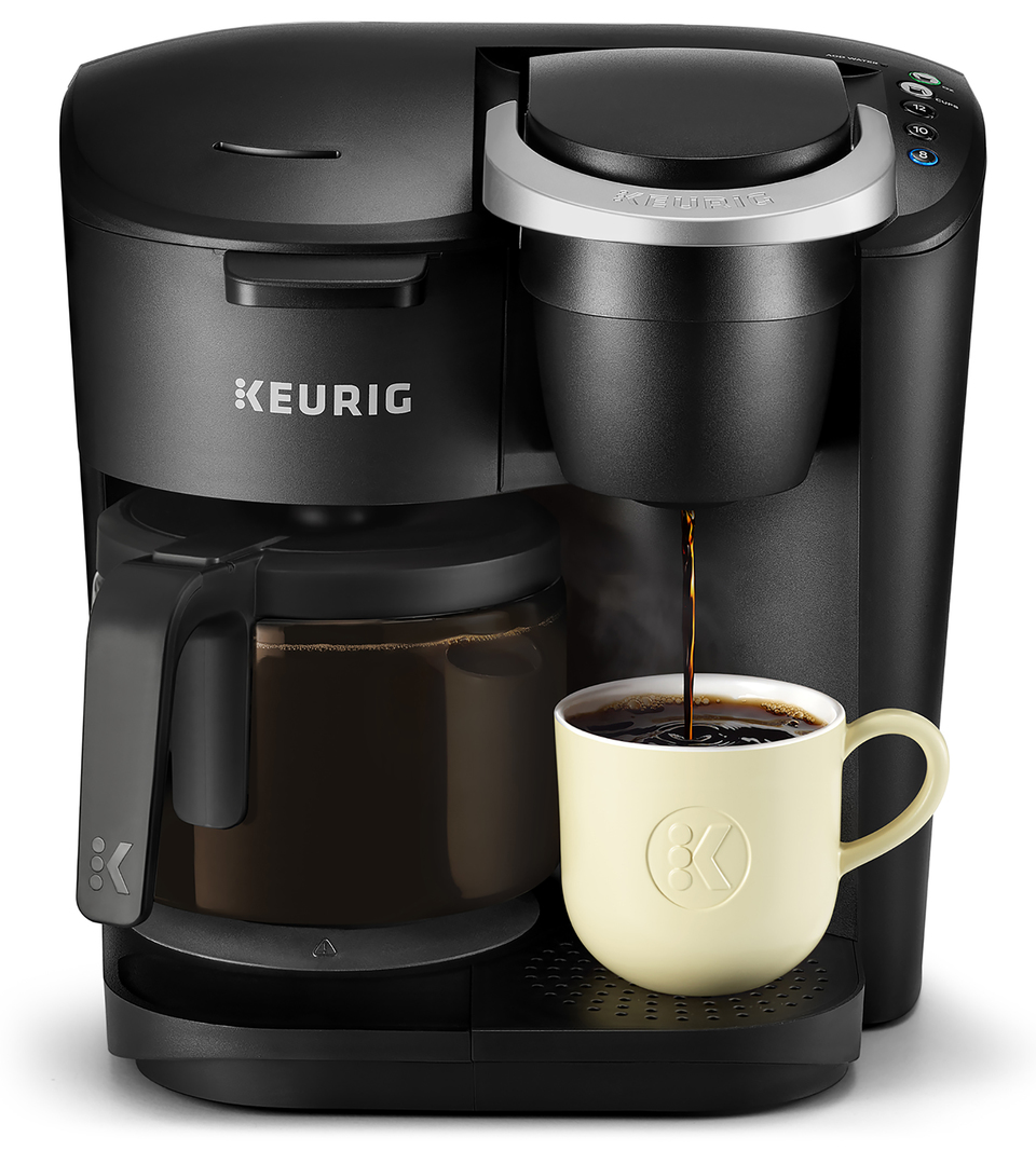 Keurig K Duo Essentials Coffee Maker With Single Serve