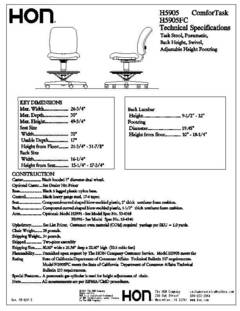 View H5905 Specification Sheet PDF