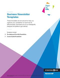 View 6 Tips for Writing a Business Newsletter PDF
