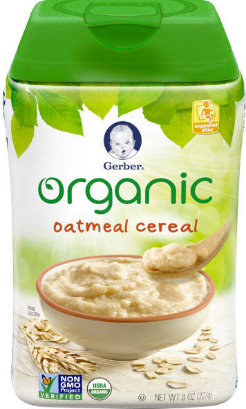 Gerber single grain oatmeal baby cereal 8 oz walmart ccuart Choice Image
