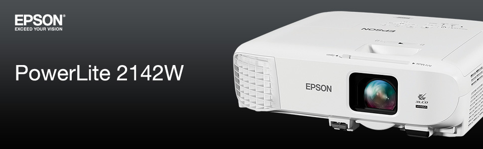 Epson PowerLite 2142W - 3LCD projector - 802 11n wireless / LAN