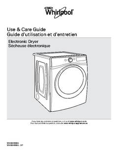 View Use and Care PDF