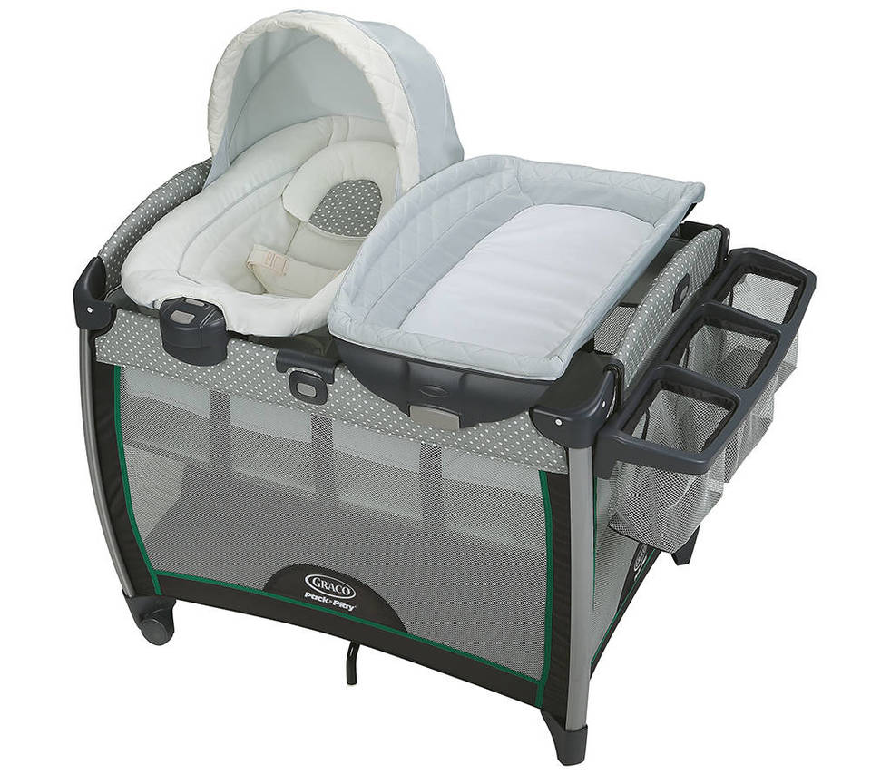 graco pack u0027n play playard portable napper and changer affinia