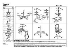 View VL701 Assembly Sheet PDF