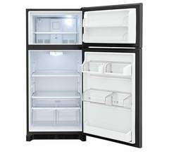 Frigidaire Gallery Top-Mount Refrigerator: FGTR1842TD, Door open, Empty