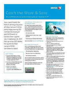 View Catch the Wave & Save PDF