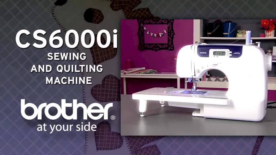 Brother CS40i FeatureRich Sewing Machine With 40 BuiltIn Best Brother Sewing Machine Cs 6000