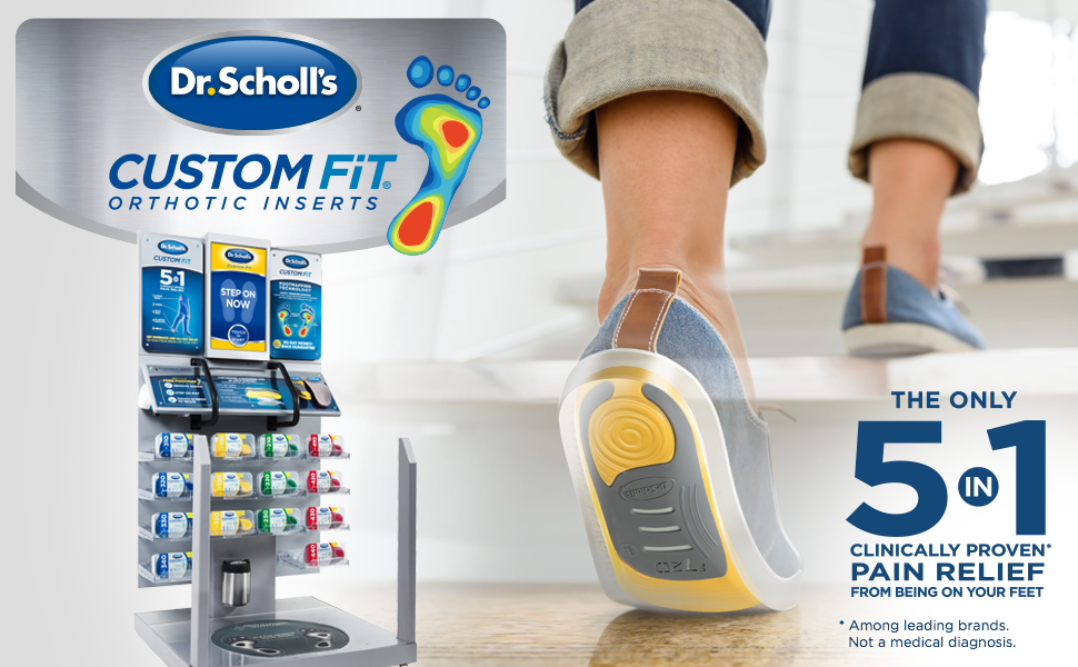 photograph about Dr Scholls Inserts Coupons Printable called Dr. Scholls Customized In good shape Orthotic Inserts, CF 340, 1 few