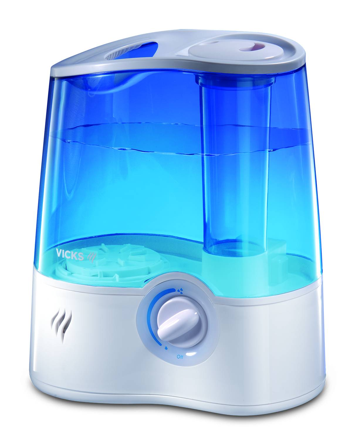 Vicks Mini Filter Free Cool Mist Humidifier Green Walmart.com #069CC5