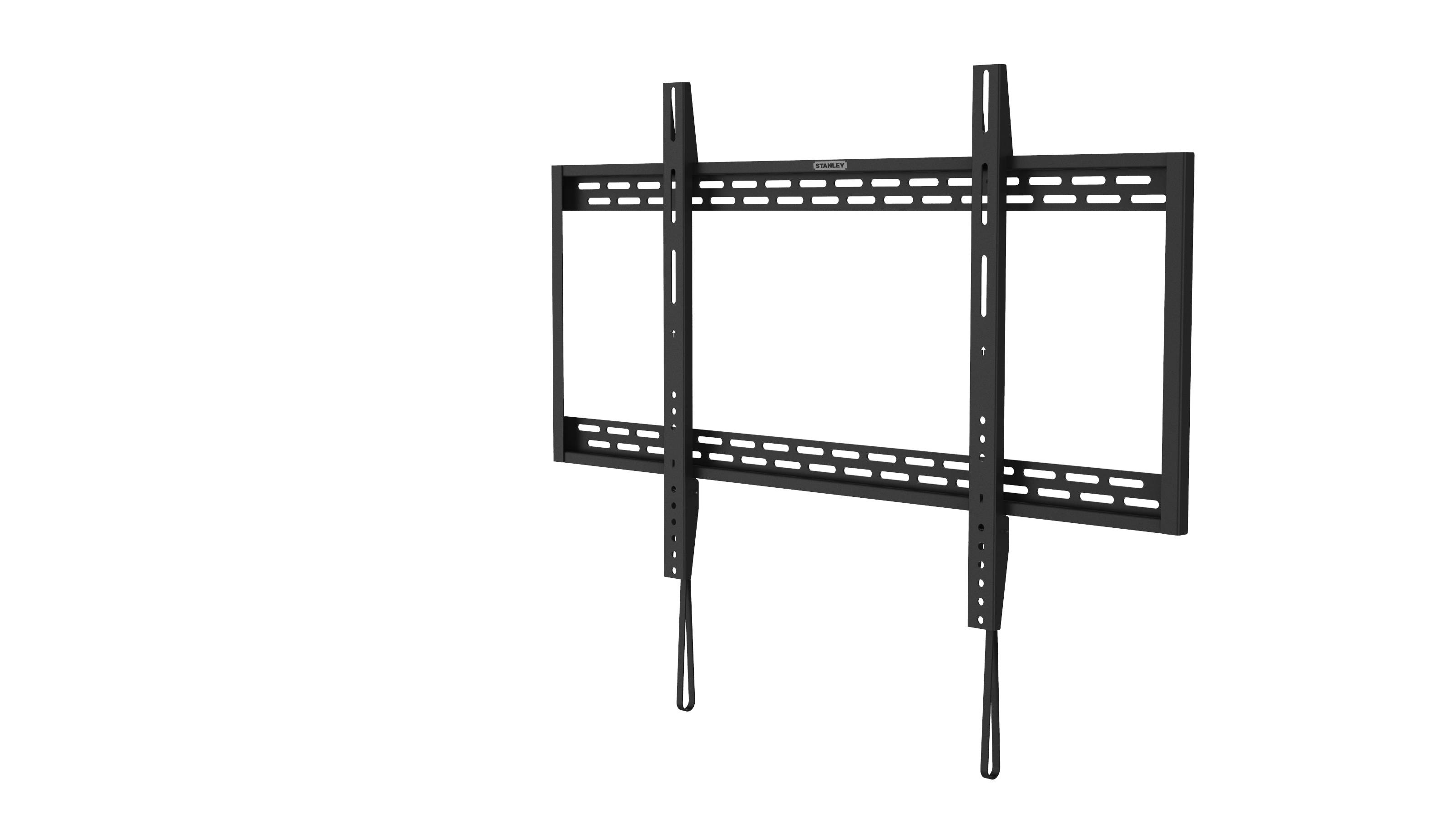 stanley tlx 105fm large full motion tv mount  37 quot  70 tv component shelves for the wall tv component shelves wall mount