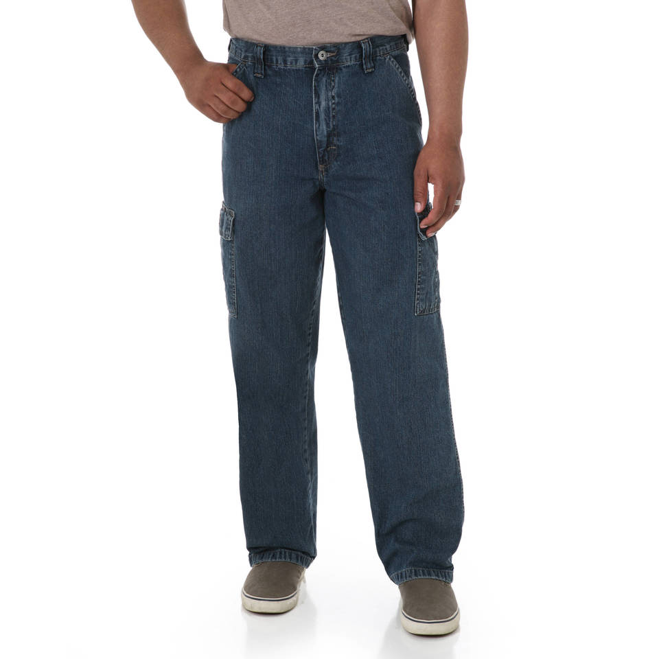 Wrangler Men's Regular Fit Jean - Walmart.com