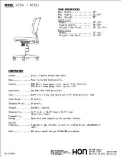 View Volt 5701 Spec Sheet PDF