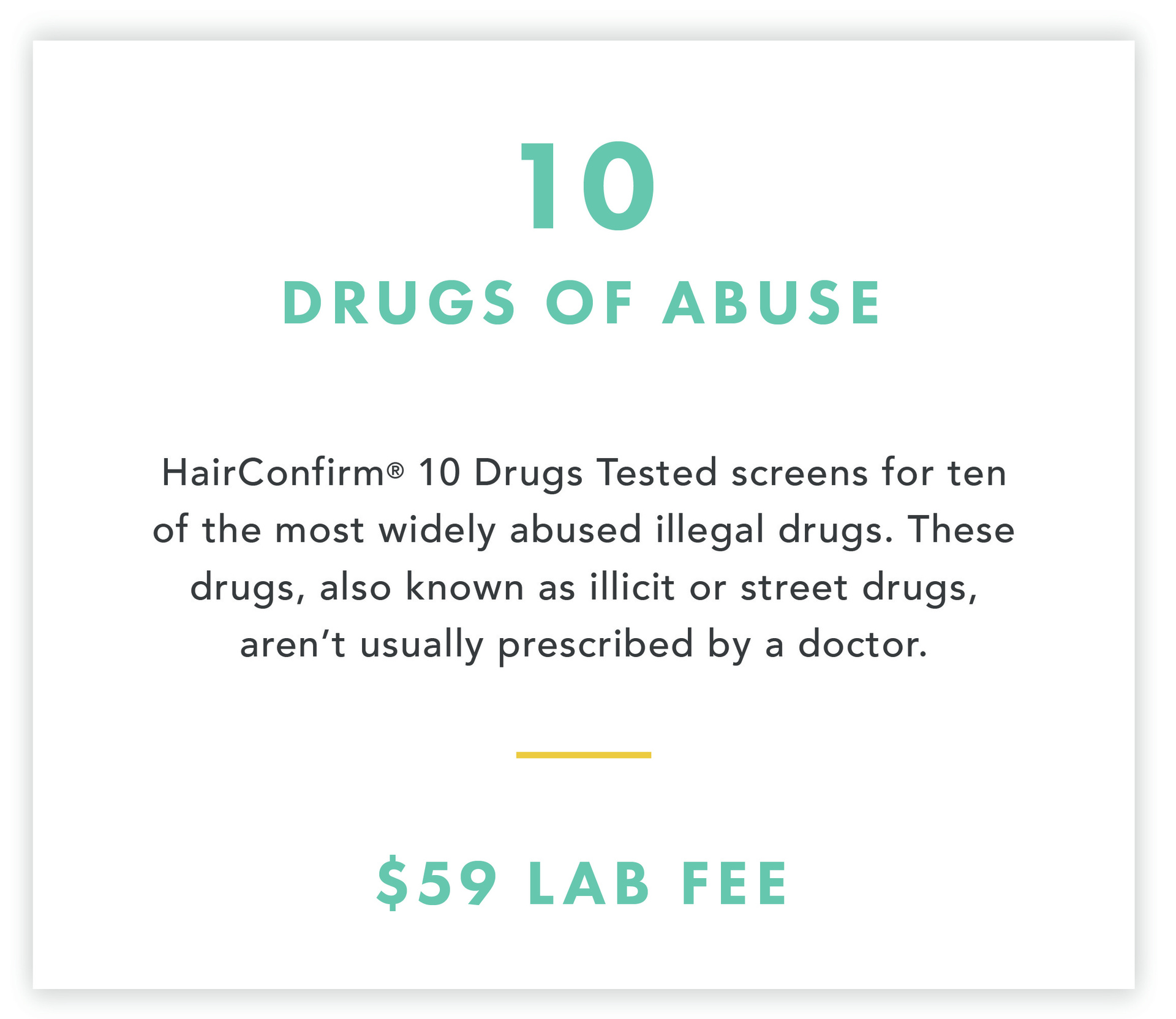 HairConfirm Hair Drug Test