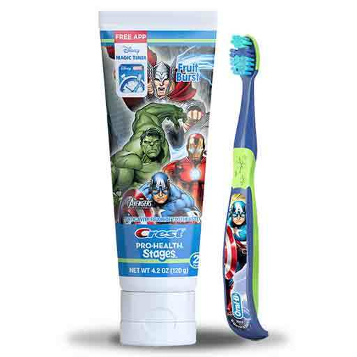 Oral-B Stages Pro-Health Marvel Avengers Toothbrush