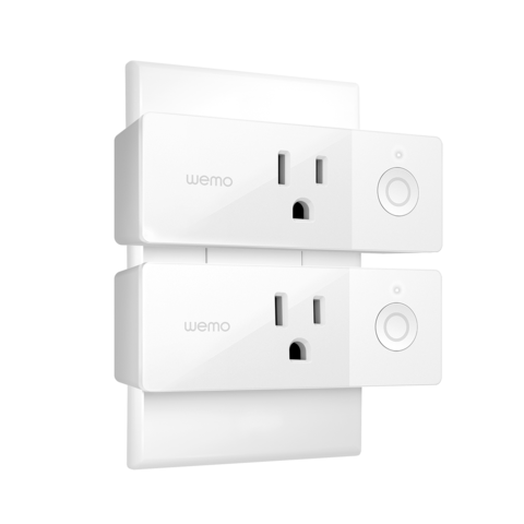 Wemo Mini Smart Plug, 2-pack