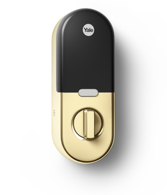 Nest x Yale Lock (Polished Brass)