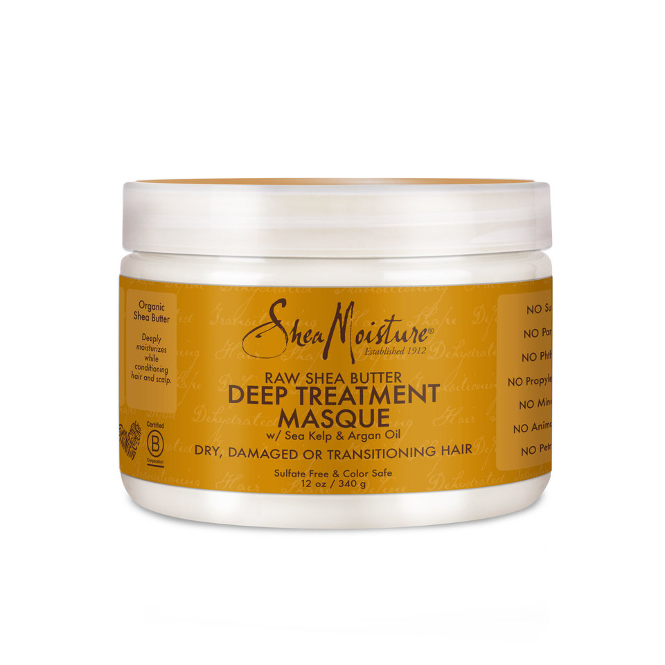 Image result for Shea Moisture Raw Shea Butter Deep Treatment Masque
