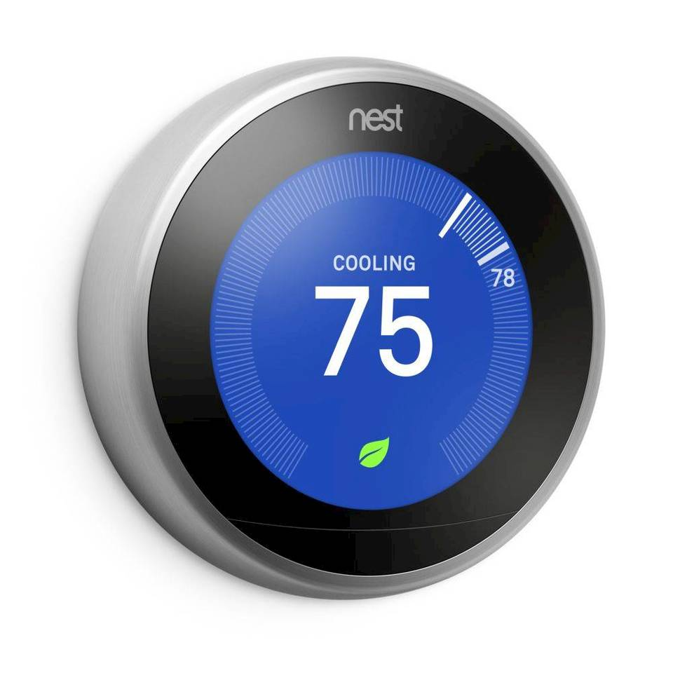 Nest Labs Learning Thermostat T3007ES (US) - Micro Center