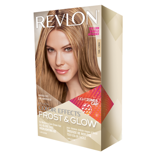 Revlon Frost Glow Honey Highlights For Medium To Dark Brown Hair