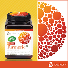 youtheory® Turmeric Extra Strength 180 Capsules