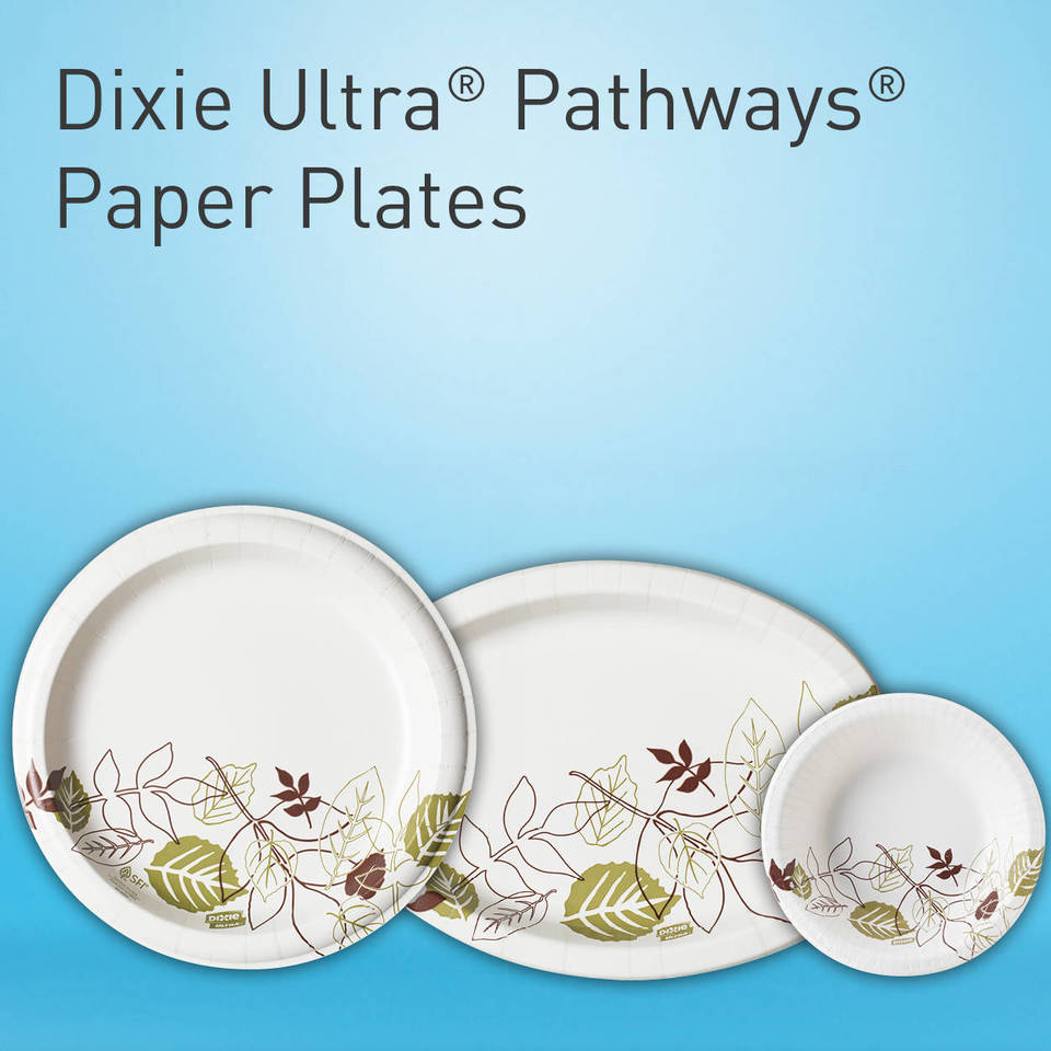 Dixie Ultra plates are the strongest paper plates on the market suited for your heaviest messiest meals.  sc 1 st  Staples & Dixie Pathways™ 10
