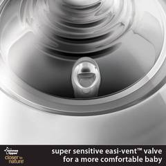 Super sensitive Easi-Vent valve gives superior venting
