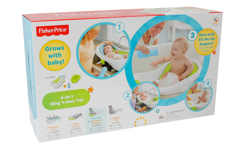 Fisher-Price 4-in-1 Sling \'n Seat Tub : Target