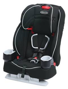 Graco Affix Backless Youth Booster Car Seat With Latch System Highback TurboBooster