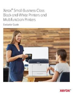 View Small-Business-Class Black-and-White Printers and Multifunction Printers PDF
