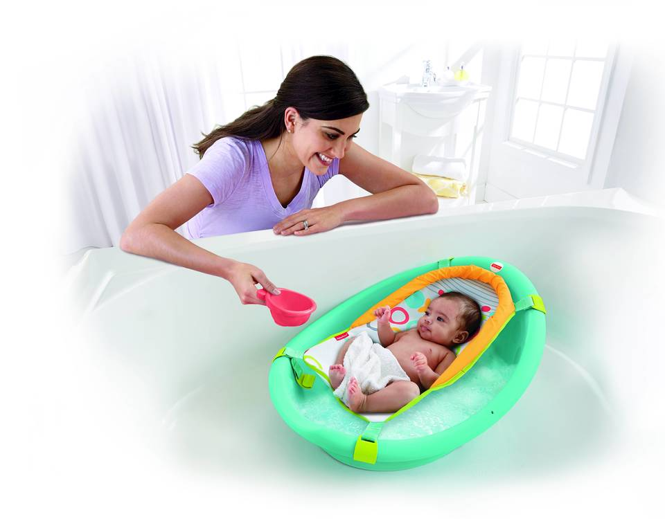 Fisher-Price Rinse n Grow Baby Bath Tub - Fisher Price Bathing and ...