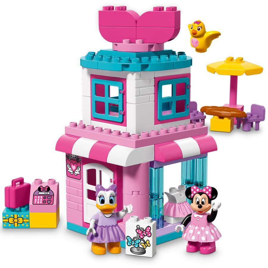 Lego Duplo Disney Minnie Mouse Bow Tique 10844 70 Pieces