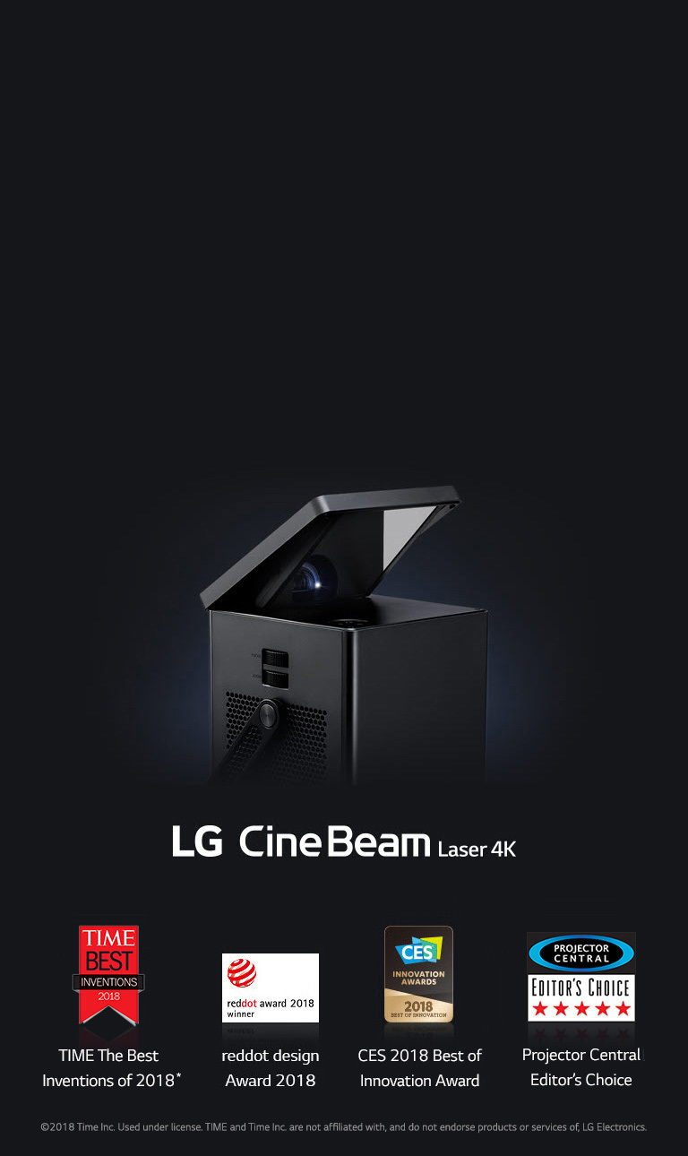 4K UHD Laser Smart Home Theater Projector