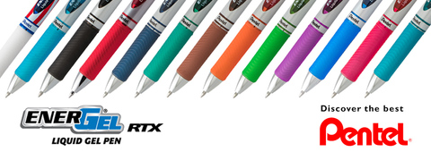 Pentel EnerGel RTX Retractable Liquid Gel Pen