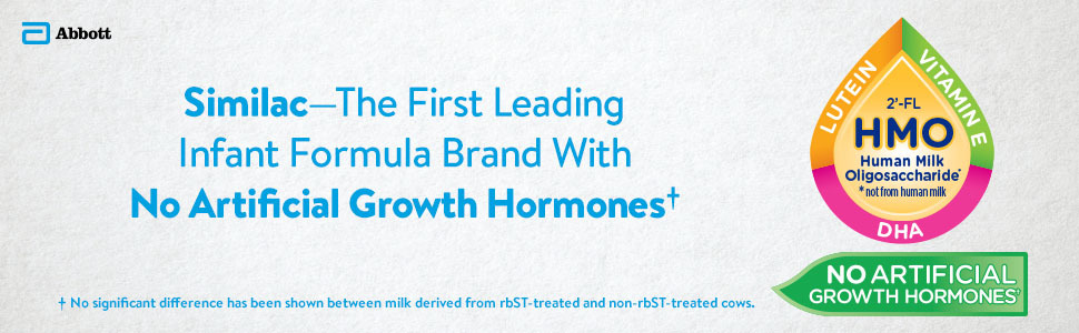 Similac- The First Leading Infant Formula Brand with No Artificial Growth Hormones