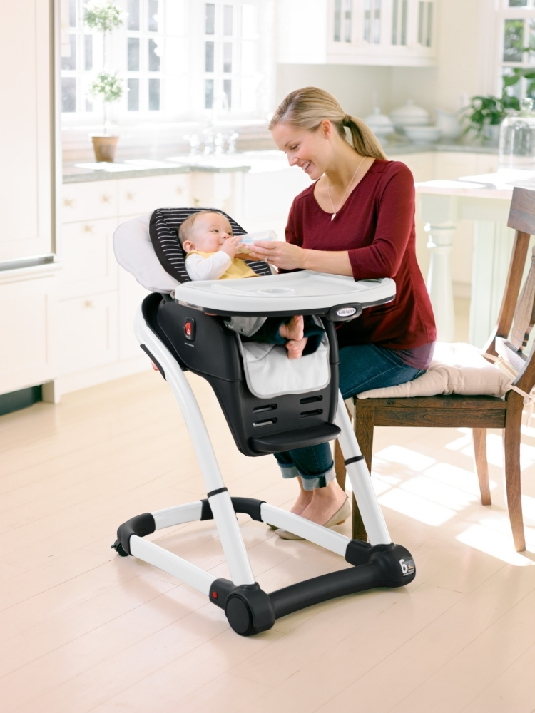 Graco® Blossom™ 6 In 1 High Chair Grows With Your Family Offering Multiple  Seating Options For Infant To Toddler And Can Seat Two Children At Once  Should ...