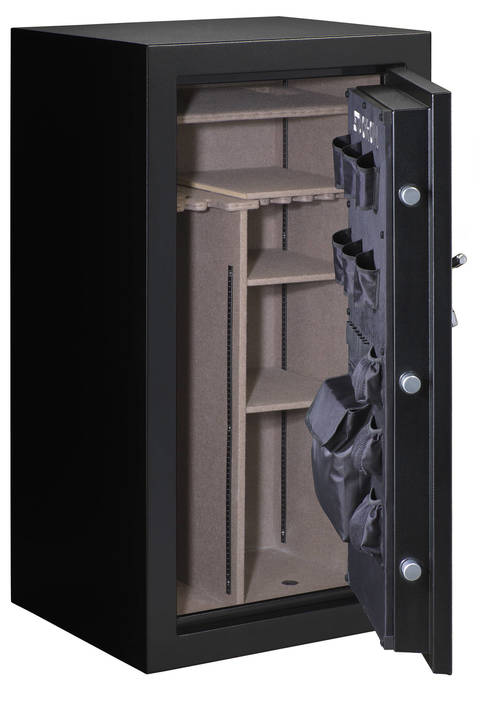 Armorguard 40-Gun Fire Resistant Convertible Safe with Electronic ...