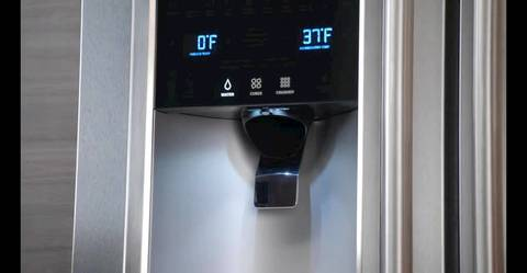 "9""-Tall Water/Ice Dispenser"