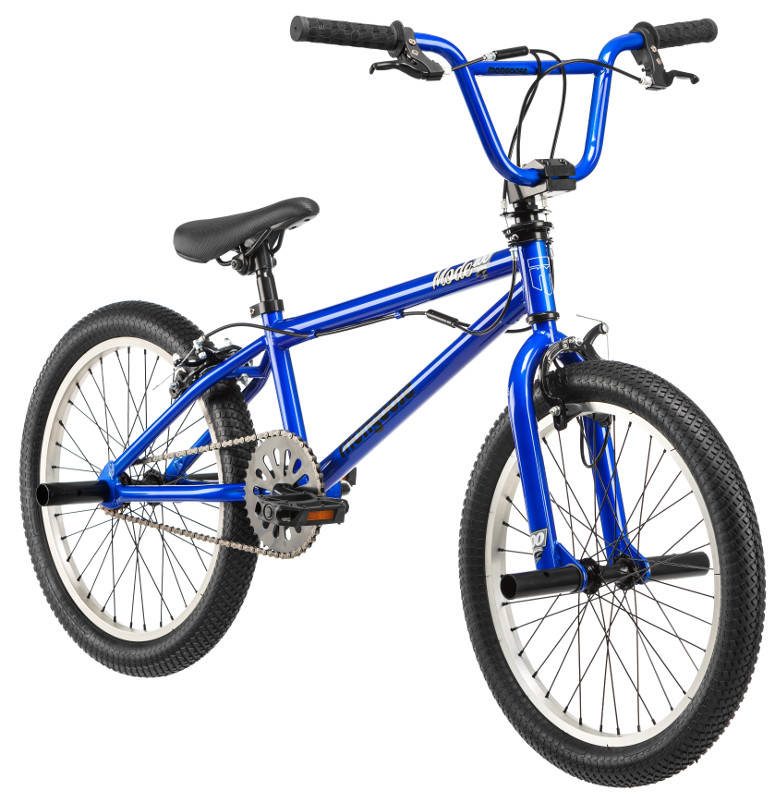 "20"" Mongoose Mode 720 Boys' Freestyle Bike, Blue - Walmart.com