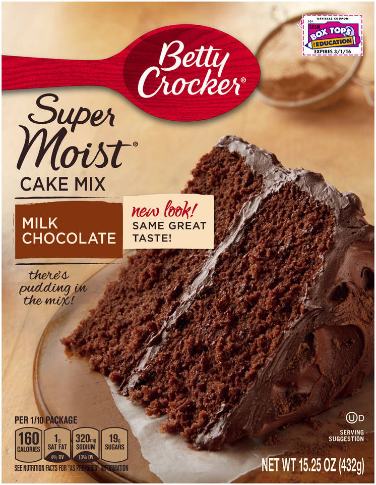 Recipe using betty crocker chocolate fudge cake mix