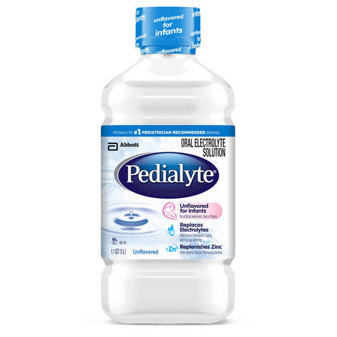 Pedialyte Oral Electrolyte Solution Unflavored 1 Liter
