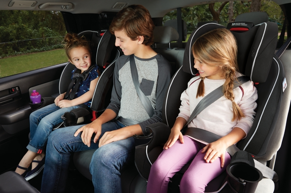 The Graco SlimFit All In One Convertible Car Seat Saves Space Your Backseat While Giving Child Plenty Of Room To Grow