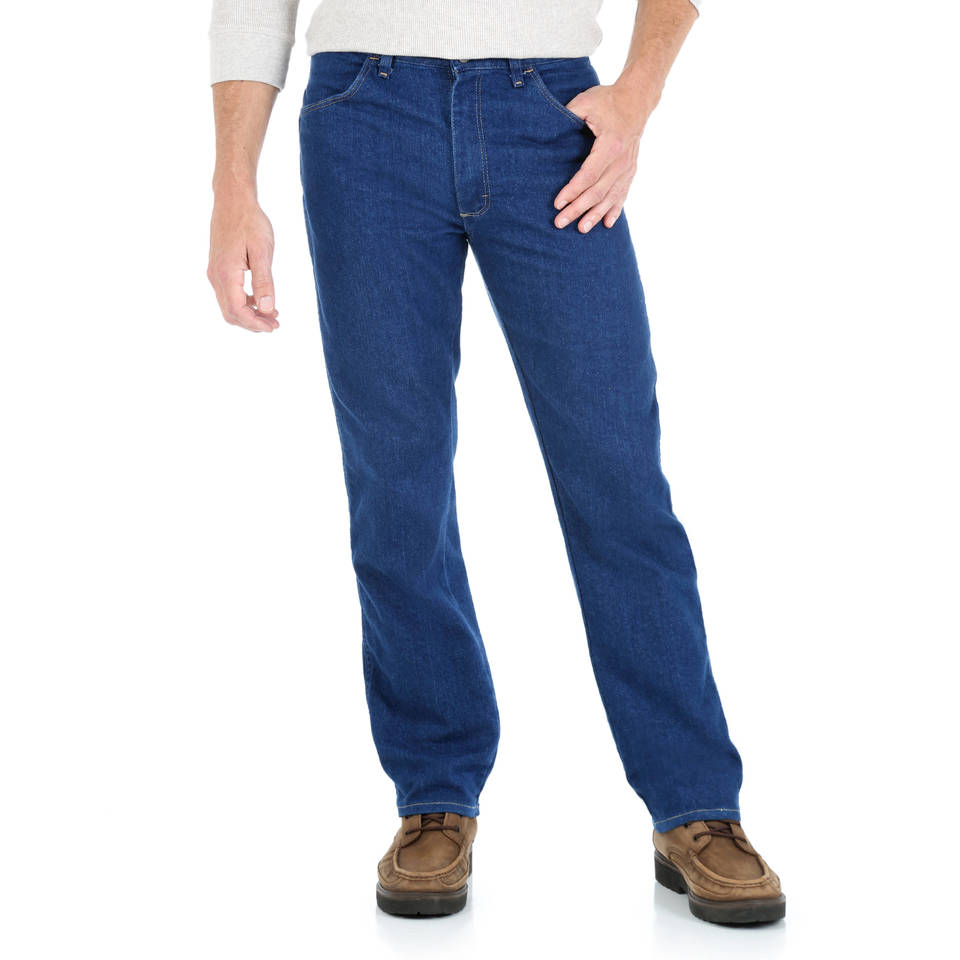 d60bd70f Wrangler - Men's Regular Fit Jean with Comfort Flex waistband - Walmart.com