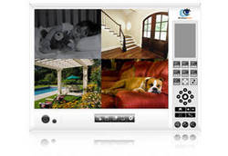 Record video and watch it anytime: D-ViewCam™ Surveillance Software