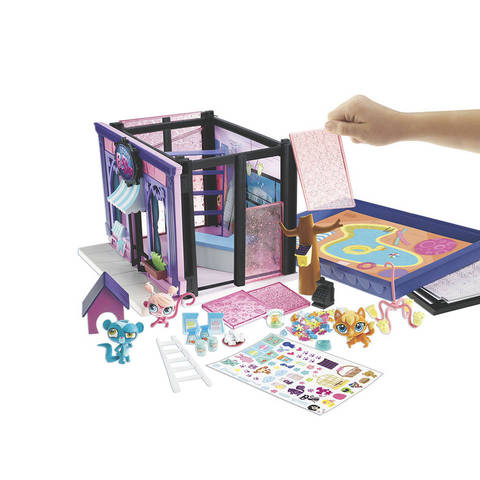 The Littlest Pet Shop!