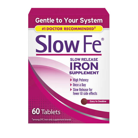 Slow Fe Slow Release Iron, Tablets | Walgreens