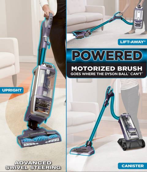 Shark Rotator Powered Lift Away Deluxe Vacuum Nv751